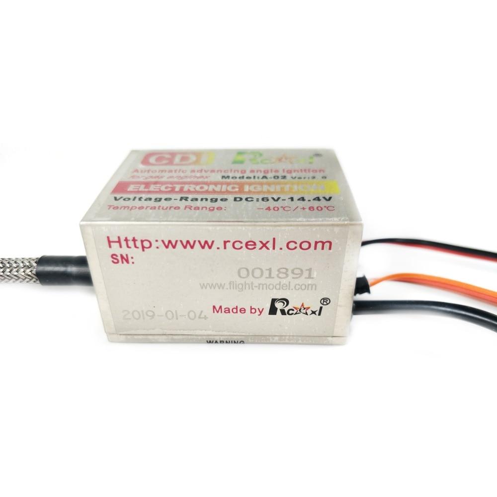 1X Rcexl 최고의 NGK BPMR6F 14mm 6 V 14.4 V 90도 단일 점화 + DIY 범용 홀 센서 브래킷 키트-에서부품 & 액세서리부터 완구 & 취미 의  그룹 3