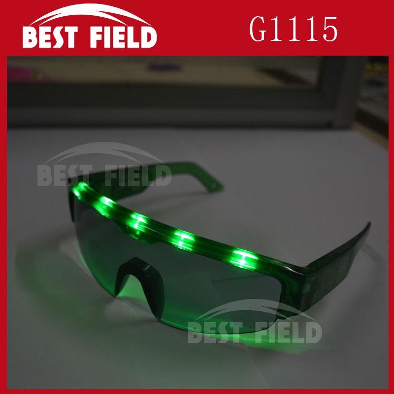 12pcs Flash Sunglasses LED Light Up Glasses 2020 New Year Party Luminous Glasses
