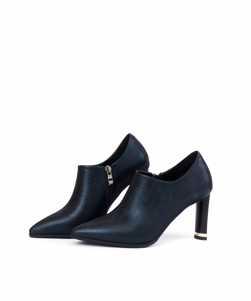Orteil Talons Noir Royal 43 Grande 2019 bleu Taille Automne Pompes Hauts Femmes 41 42 Glissière Krazing De Véritable L9f1 Élégant Pot Printemps Chaussures Cuir Pointu xB4YnwS8Fq