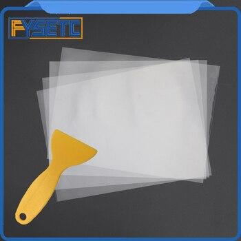 4 sheets FEP Film 120mm x 180mm x 0.1mm DLP LCD SLA Resin 3D Printer For Wanhao Duplicator D7, Proniks KLD-LCD1260, YHD-101