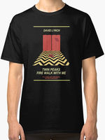 Hip Hop Novelty T Shirts Brand Clothing O Neck Men Twin Peaks Red Room Mens T