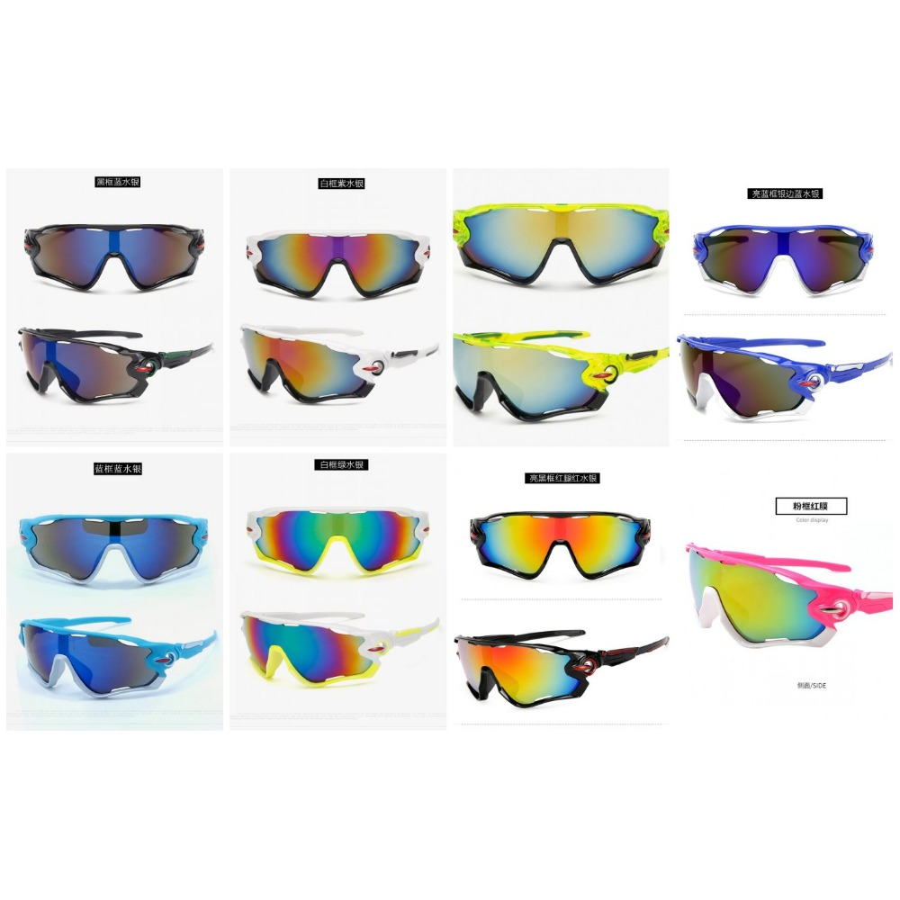 14 colors Sport Cycling Glasses sports Men Women Running Fishing Sun Glasses UV Protect Road Bicycle MTB Sunglasses googles