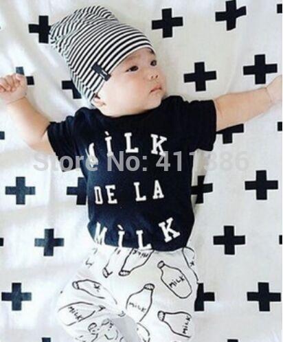 ST189 2017 Nowa dziewczyna przyjazdu i chłopców ubrania ustawić długi rękaw + Spodnie sowa wzór zestaw noworodka ubrania dla dzieci garnitur dzieci odzież 50