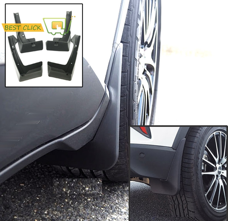Set Mud Flaps For Toyota C-HR 2018 CHR Front Rear Splash Guards Mudguards Fender
