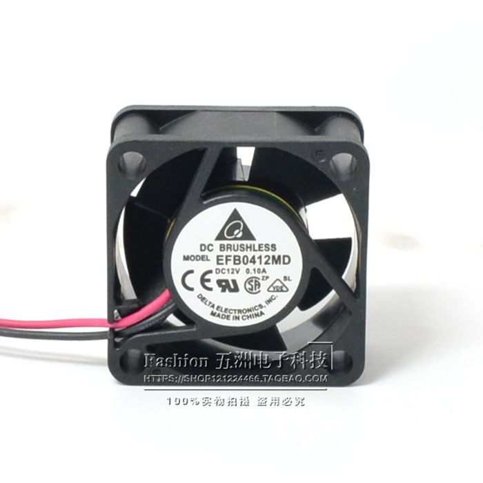 DELTA EFB0412MD 4cm 4020 North/South bridge cooling silent quiet dual ball bearing fan