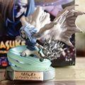 19 cm TSUME Naruto Shippuden Uchiha Sasuke chidori final Anime Action Figure PVC Brinquedos Coleção Modelo Brinquedos