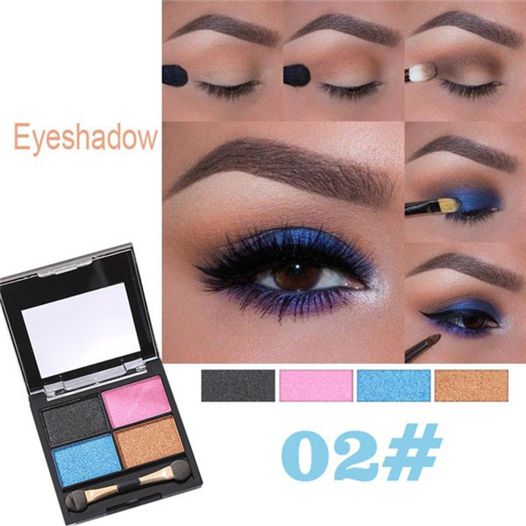 Shimmer Eyeshadow Palette Eye Cosmetics