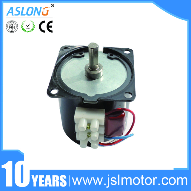 60KTYZ Reduction Motor 2 5r-110rpm Low Noise Gearbox Electric Motor  Barbecue High Torque Low Speed 220v Synchronous AC Motor
