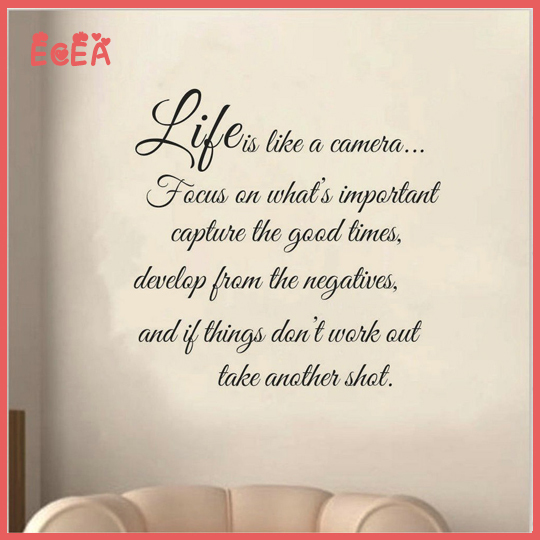 Quotes About New Life: 2015 New Life Inspirational Wall Decals Quotes Creative