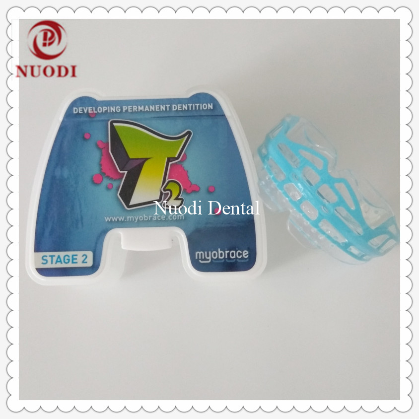 MRC Orthodontic Braces T2 stage 2 for ages 10-15/Dental teeth trainer appliance T2 orthodontic alignment