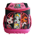 Monster High Bolso de Escuela Ortopédica Niñas Princesa Niños Bolsas Escuela Niños impermeables Mochila Escolar mochila Mochila Infantil