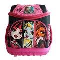 Monster High Saco de Escola Ortopédico Meninas Princesa Crianças Escola Bags Crianças Satchel Mochila Escolar Mochila Infantil à prova d' água