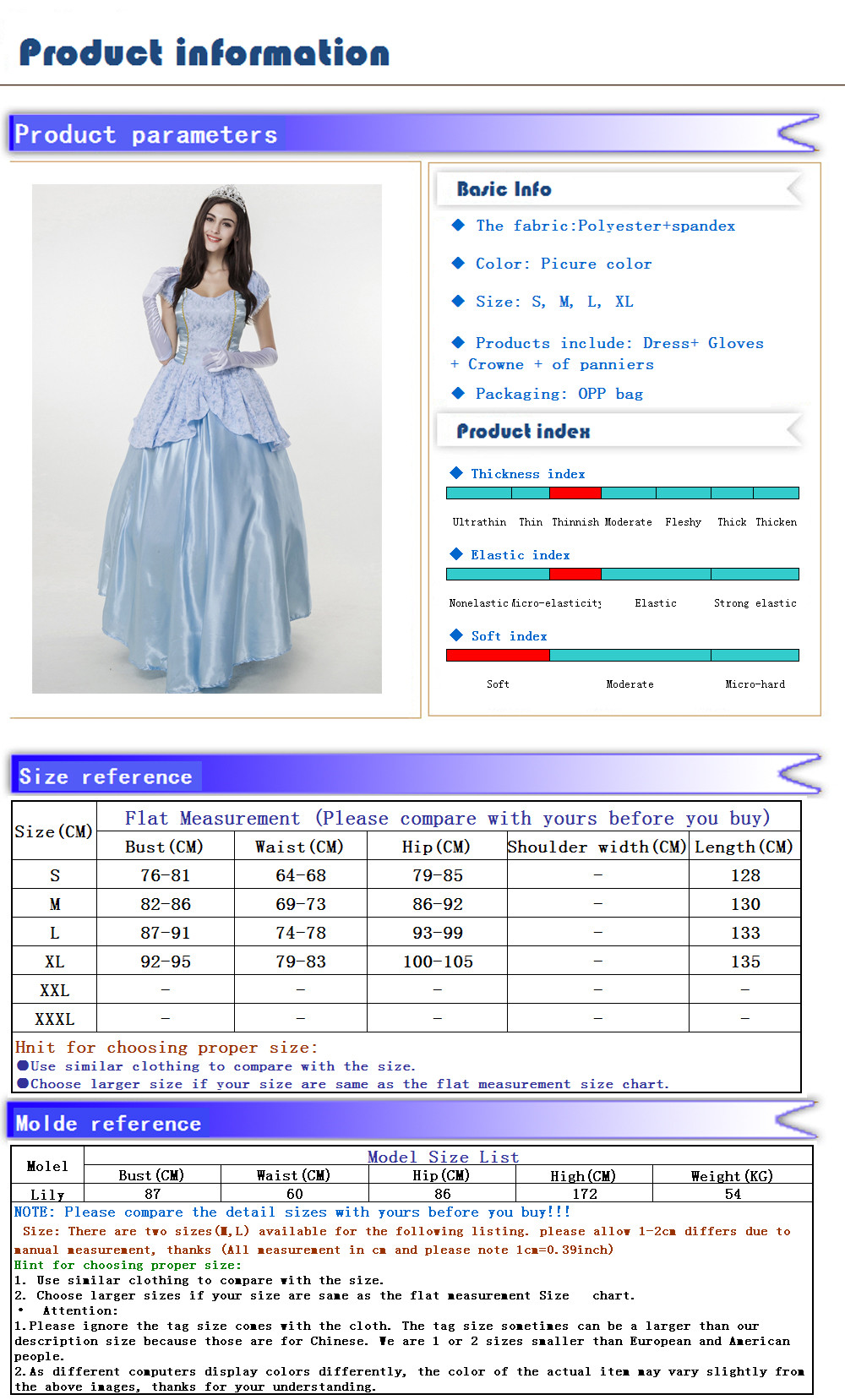 Home European And American Womens Clothing Blue Palace Halloween Costumes Sissi Cinderella Dress Queen Stage Play Dress 2019 Official