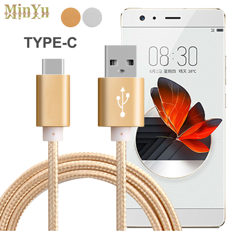 1Meter, USB 3.1 Type C Data Sync & Charge Cable for ZTE Nubia M2 Play / Z17 mini / Z11 miniS NX549J / N1 USB-C Charging Cables 1m usb 3 1 type c data sync