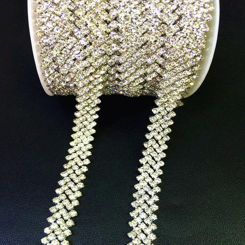 Metal Chain Belts with Rhinestones Metal Belts with Stone 1p Cloth Accessories