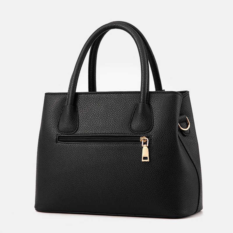 Bolsos de cuero PU para mujer, bolso grande para mujer, bolsos de hombro cuadrados para mujer, Bolsas para mujer, nueva moda, bolsos cruzados