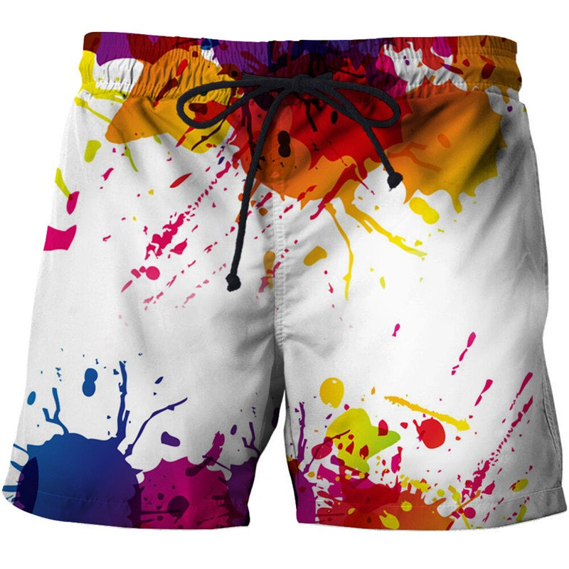 Men's Clothing Sporting Anime Catch Ball 3d Printed Beach Shorts Men Casual Board Shorts Plage Quick Dry Shorts Swimwear Streetwear Dropship Zootop Bear Easy To Use