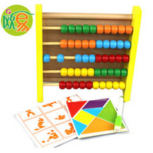 2016 wooden multipurpose calculation frame math educational toys multifunctional magnetic drawing board math toys
