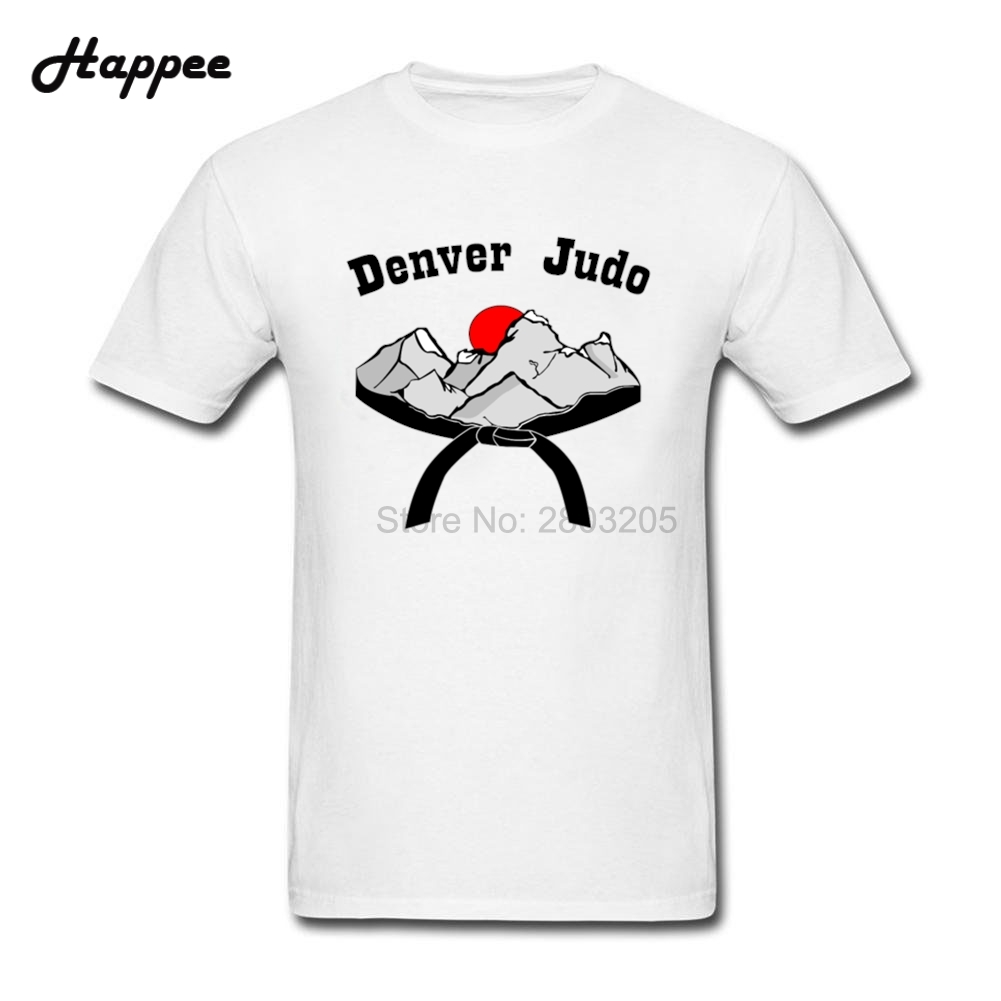 Design your own t-shirt for cheap price - Xs 3xl Denver Judo T Shirts Men Short Sleeve 100 Cotton Tshirts Men Designer Big Size Geek T Shirt Cheap Sale Tops Clothing