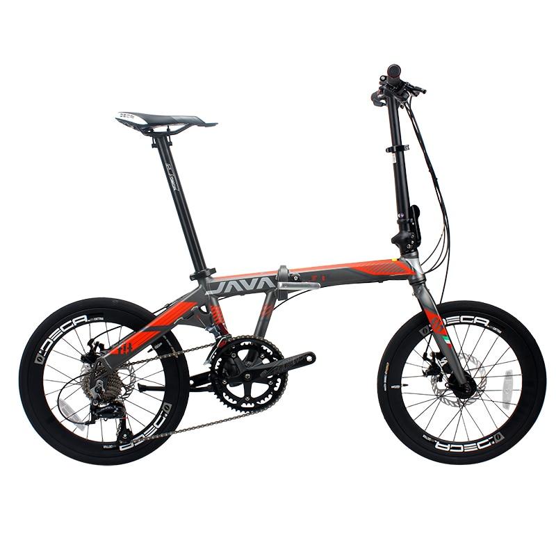 JAVA FIT-18-D Aluminium Adult Folding Bike 20