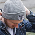 Motorcycle Shield Skullies &amp Beanies Deus ex MACHINA Embroidery Patch Winter Warm Fashion Sports Large  Men Women