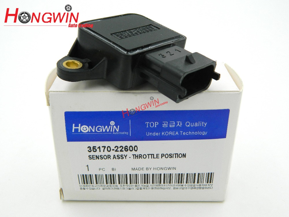 35170-22600 Throttle Position Sensor (TPS) Fits:KIA - HYUNDAI -DODGE - SAAB 9600930002 , 96009-30002 0280122014, 0280122016