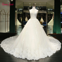 Taoo Zor Classic Design Appliques Beaded Pearls A-Line Princess Wedding Dresses Turkey 2017 Sexy Sweetheart Lace Up Bridal Gowns