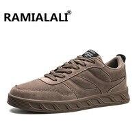 Ramialali 새로운 도착 남성 스케이트 보드 신발 남성 레이스 업 야외 스포츠 운동화 클래식 경량 운동화 Zapatillas