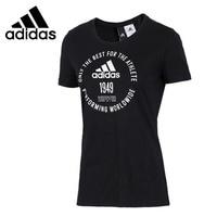 Original New Arrival 2018 Adidas ADI EMBLEM Women's T shirts short sleeve Sportswear