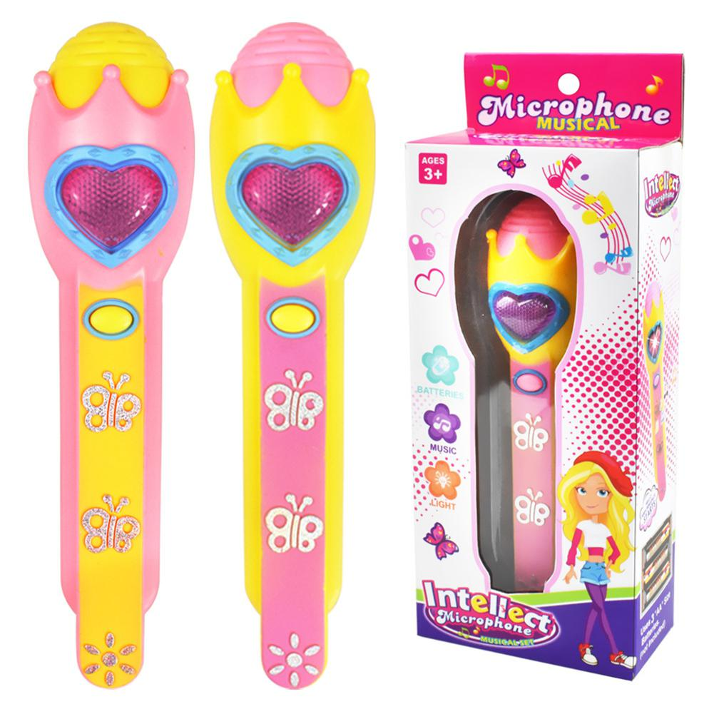 LeadingStar Kids Girls Boys Wireless Microphone Toys Mic Karaoke Singing Funny Gift Music Toy ZK30
