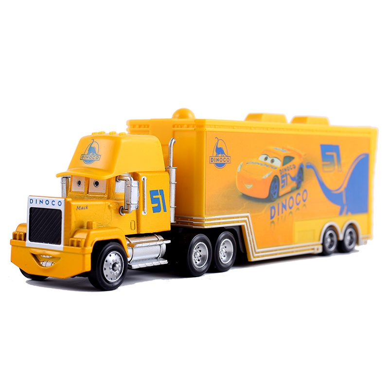 Disney Pixar Car 3 Truck Mike Uncle 51 Truck 1:55 Die Cast Metal Alloy Model Toy Car 3 Children's Gifts