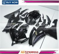Matte / Gloss Black Motorcycle Fairing Bodyworks For Yamaha R6 2008 2009 2010 2011 2012 2013 2014 Fairings Kits With Gold R6