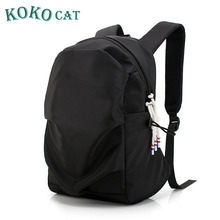 KOKOCAT Fashion Backpack15 Inch Laptop Backpack Men Travel Backpack Waterproof School Bag Male Mochila male men travel laptop backpack waterproof backpacks waterproof oxford swiss mochila 17 inch gear men laptop backpack gear