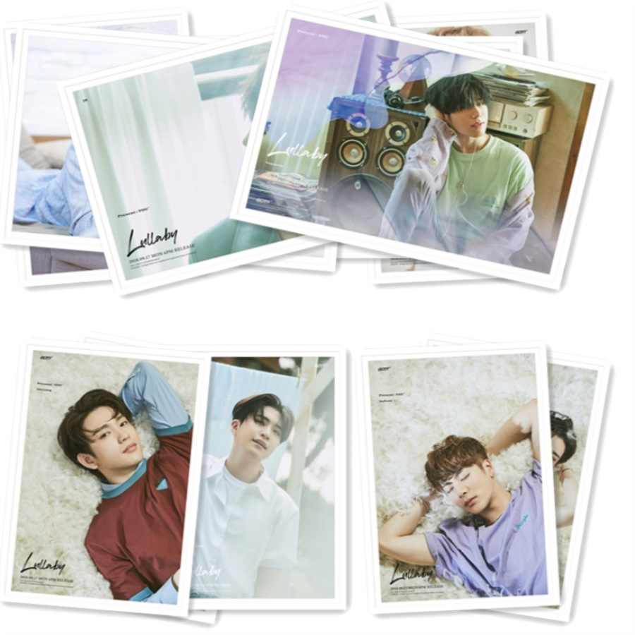 Kpop GOT7 Present: You HD Collective Photocard Polaroid Lomo Photo Card  with Metal Box 30pcs/set