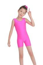 Speerise 3-12 Years Toddler Kids Tank Unitard Biketard Costume for Girls Ballet Gymnastics Leotard Dance Unitards