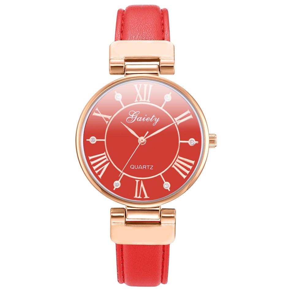 321eed7f0 Купить Коллекция 2018 года, модные простые кварцевые часы Для женщин  наручные часы женские наручные часы кварцевые часы Продажа Дешево