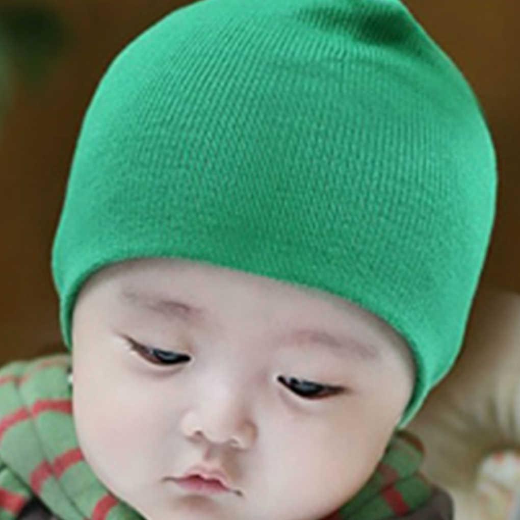 ทารกแรกเกิดหมวกถักอบอุ่นหมีรอบเครื่องหมวกปกป้องหู Bonnet เด็กหมวกเด็กหมวกเด็กทารกแรกเกิดถักหมวก