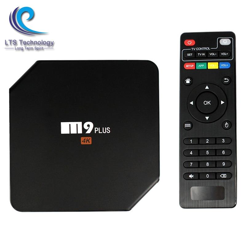 Android 5.1 TV Box M9 Plus Amlogic S905 Quad Core XBMC 4K 2.4 G/5GHz Dual Wifi 2GB/16GB H.265 BT 4.0 DLNA KODI Airplay Miracast m8 fully loaded xbmc amlogic s802 android tv box quad core 2g 8g mali450 4k 2 4g 5g dual wifi pre installed apk add ons