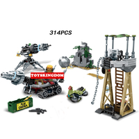 Hot moderne militaire zwart goud Resource Defensie Battle bouwsteen leger figures Aarde boor motorfiets bricks speelgoed voor jongens