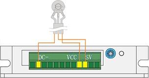 External potentiometer