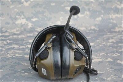 TCA Tactique ComTac III (Nouveau Modèle) unique Com Ramassage casque anti-bruit pour le tca TRI PRC-152 PRC-148 Talkie Walkie CB/OD
