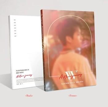 [MYKPOP]~100% OFFICIAL ORIGINAL~ INFINITE Nam WooHyun Mini #3:  A New Journey Album Set, KPOP Fans Collection SA19061303