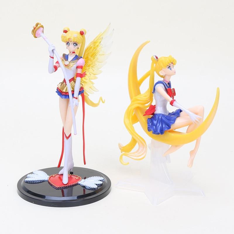 Sailor Moon 20th Anniversary Figure Phone holder Acrylic Decoration Gift