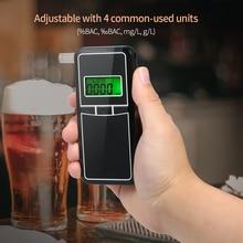 AT8000 цифровой спиртометр, алкотестер, профессиональный портативный алкотестер, устройство обнаружения алкоголя с 5 мундштуками