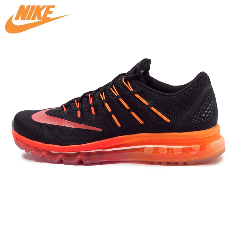NIKE AIR MAX Original New Arrival Authentic Mens Colorful Running Shoes Sneakers Whole Palm Cushioning 806771-006