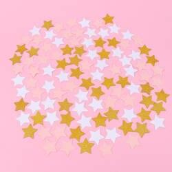 100 шт./лот блестящие пять бумага со звездами свадебные конфетти Декор принадлежности для украшения стола аксессуары