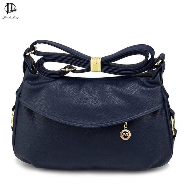 5b2c8d4461 Brand French Stylish Design PU Leather Mum Crossbody Shoulder Bag Women s Messenger  Bag Ladies Travel Casual Zipper Bag