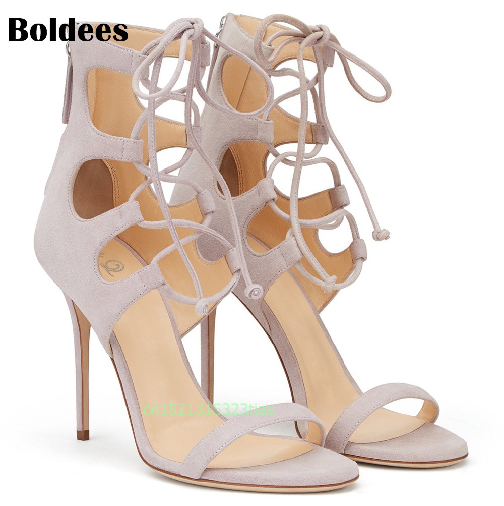 Boldees Sexy Women Pumps Open Toe Lace up Heels Sandals Woman sandals Thin High Heel with Women Shoes women High heels 2018 fashion women pumps sexy open toe heels sandals woman sandals thick with women shoes high heels s144