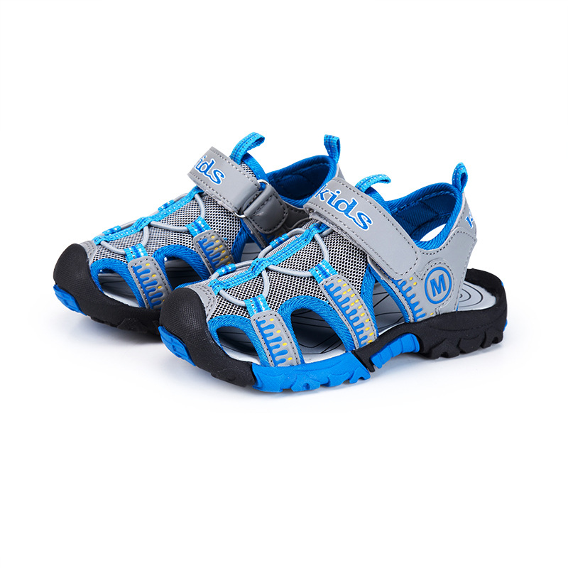 2018 New Arrival summer Boys Sandals Children Sandals Closed Toe Sandals for Little and Big Sport Kids Summer beach Shoes