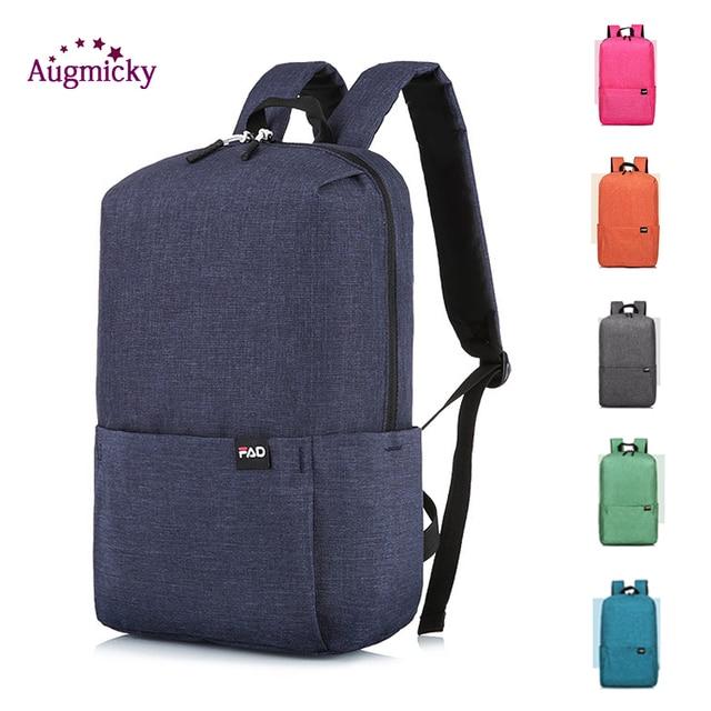 Lightweight 10L Student Backpack Outdoor Shoulder Bag Waterproof Urban Leisure Sport Bags Climbing Rucksack Cycling Backpacks